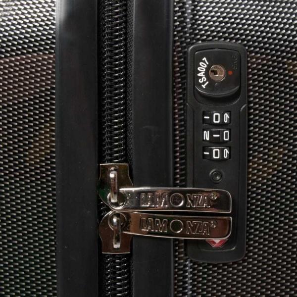 LAMONZA TROLER PC  GLAMOUR,  TSA lock  MEDIUM 70 cm
