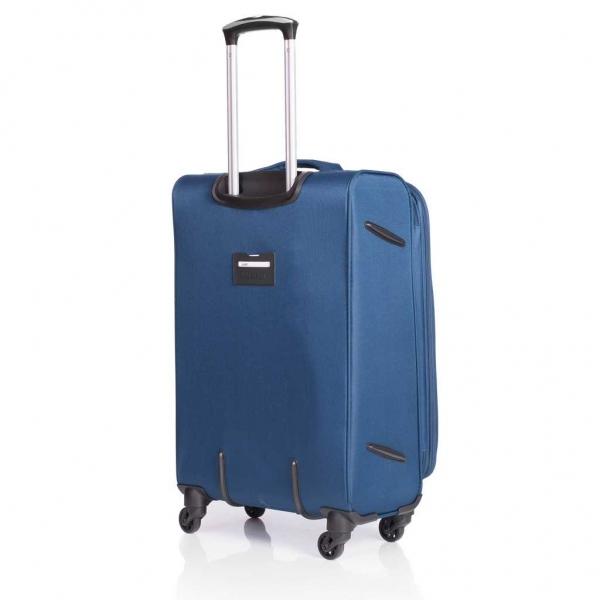 LAMONZA TROLER JAVA NAVY BLUE 55x36x22 CM