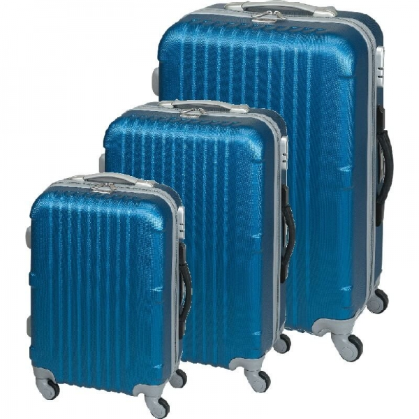 Set trolere San Francisco (S,M,L) Albastru Princess Traveler