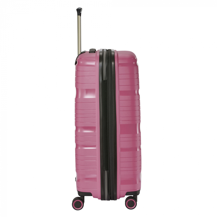 SET Trolere Travelite MOTION 4 roti S,M,L - Roz