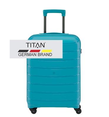Troler TITAN LIMIT 4 roti S Albastru