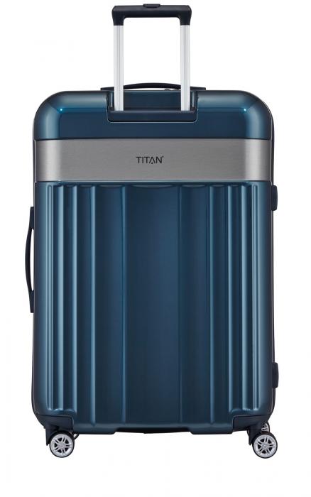 SET Trolere TITAN - SPOTLIGHT 4 roti duble S,M,L - 76 - Petrol
