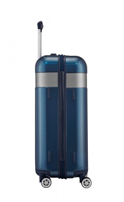 Troler TITAN - SPOTLIGHT 4 roti duble M - 67 cm - Petrol