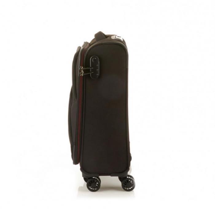 Troler Travelite KENDO 4W S, Negru
