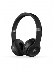 Casti Beats Solo3 Wireless On-Ear Headphones - Black - mp582zm
