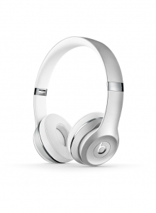 Casti Beats Solo3 Wireless On-Ear Headphones - Silver - mneq2zm