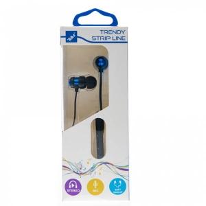 Casti Tellur In-Ear Trendy, Albastru