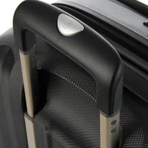 Troler Laptop Roncato Double, Negru/Rosu