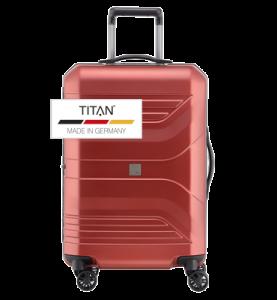 Troler TITAN PRIOR 4w  M Rosu