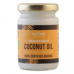Ulei de cocos certificat organic, presat la rece, grad alimentar, 100 ml - Akoma Skincare