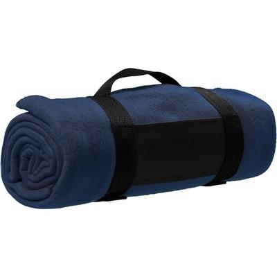 Patura pentru picnic cu folie impermeabila - Albastru inchis