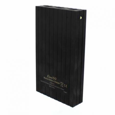Acumulator extern powerbank 15000mAh 3.1A, negru, Well