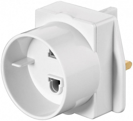 Adaptor priza EU -> UK Goobay