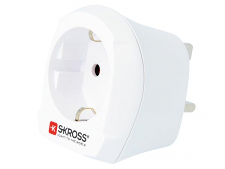 Adaptor priza EU -> UK Skross