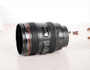 Cana obiectiv aparat foto - Negru - Plastic