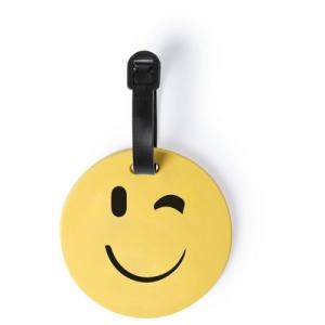Eticheta de calatorie Smiling Face Wink
