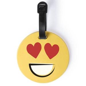 Eticheta de calatorie Smiling Face - Love