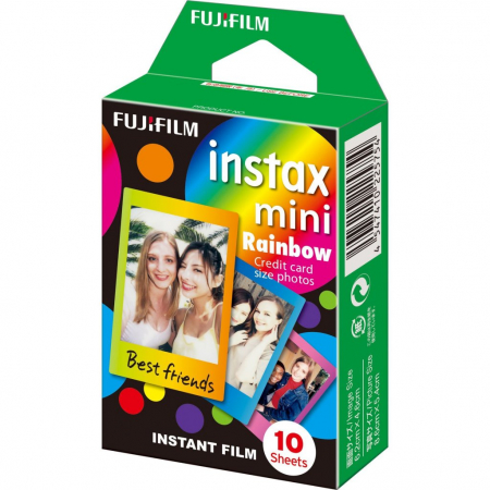 Fujifilm Instax Mini Pack Rainbow - film instant