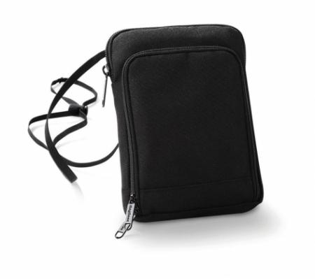 Geanta-portofel pentru calatorii negru