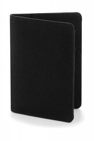 Husa pasaport material textil - Negru