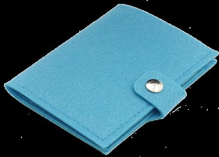 Husa pasaport Bleu
