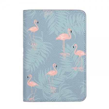 Husa pasaport/ Coperta Pasaport - Flamingo