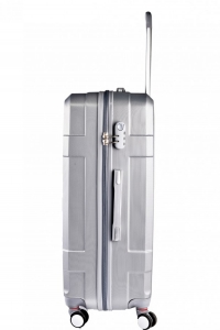 Klept Troler ABS TRAVEL-70 Argintiu