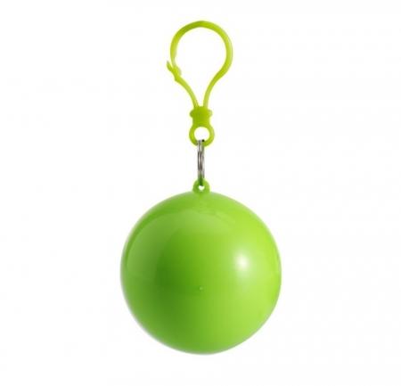 Pelerina de ploaie in bila cu carlig - Verde