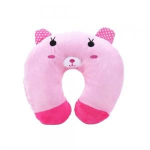 Perna de calatorie Copii Model Roz Ursulet
