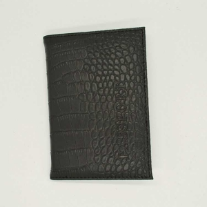 Husa pasaport/ Coperta Pasaport - Negru