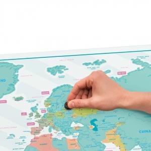 Set Traveller - Husa si Harta razuibila mare