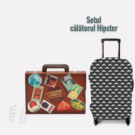 "Set travel ""Calatorul Hipster"""