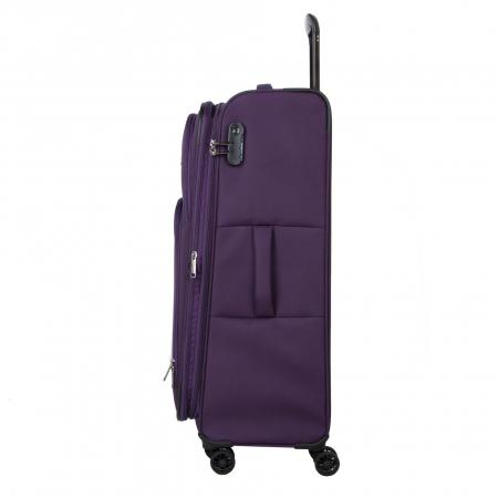 Troler Travelite KENDO 4W L, Violet