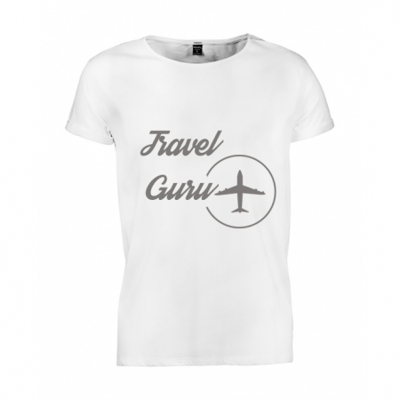 Tricou barbati Travel Guru
