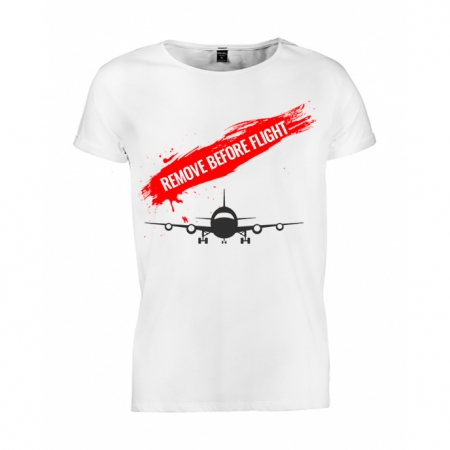 Tricou barbati Remove before flight