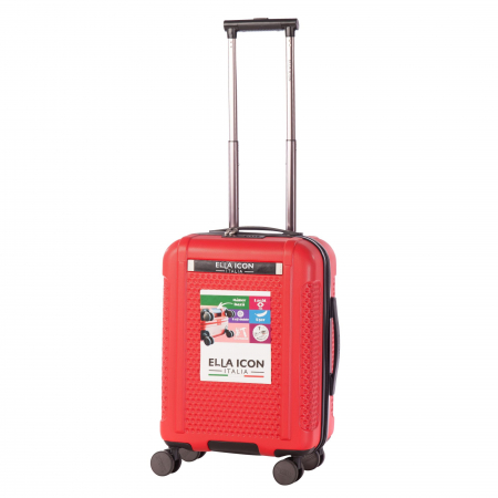 Troler de cabina ELLA ICON - OPTIC ROSU S - 55x38x23