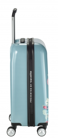 Troler LIL'LEDY 4 roti duble  S - 54 cm, albastru pudrat- travelite