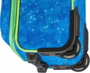 Troler Travelite 2 roti textil Eroii Orasului S - Albastru