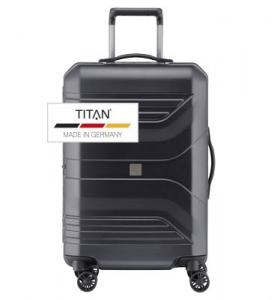 Troler TITAN PRIOR 4w  M Negru - resigilat