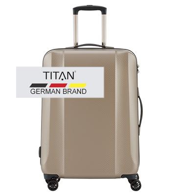 Troler TITAN XENON DELUXE 4w M Bej Champagne