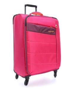 Troler Travelite KITE 4w Lexp - Roz - Cadou Geanta de Bord!