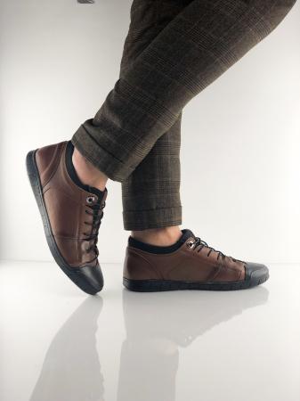 Pantofi sport din piele BROWN BEAR