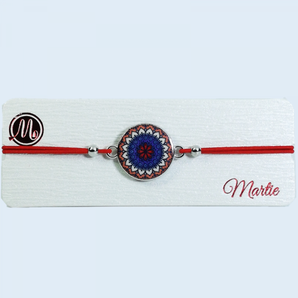 Martisor Bratara,Motive Traditionale, Snur Rosu