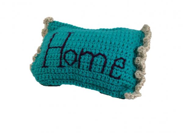 Pernuta crosetata, Home, umpluta cu lavanda