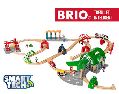 Smart Tech – Set trenuleț inteligent