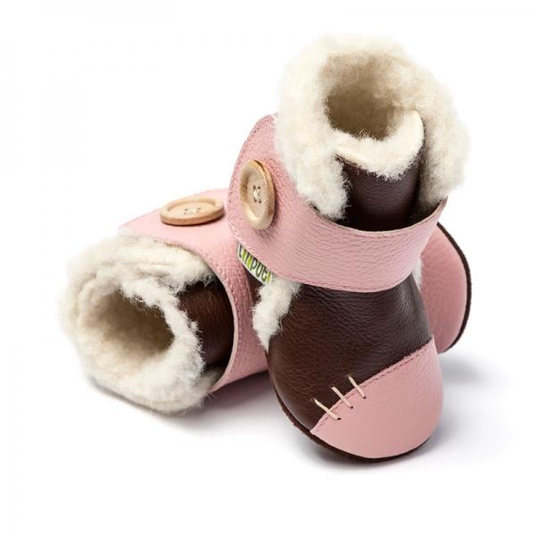 Cizme cu talpă moale Liliputi® - Arctic Brown