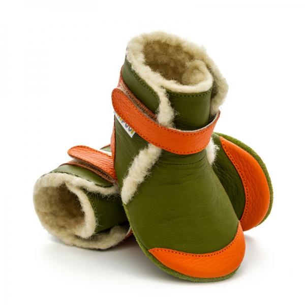 Cizme cu talpă moale Liliputi® - Jungle