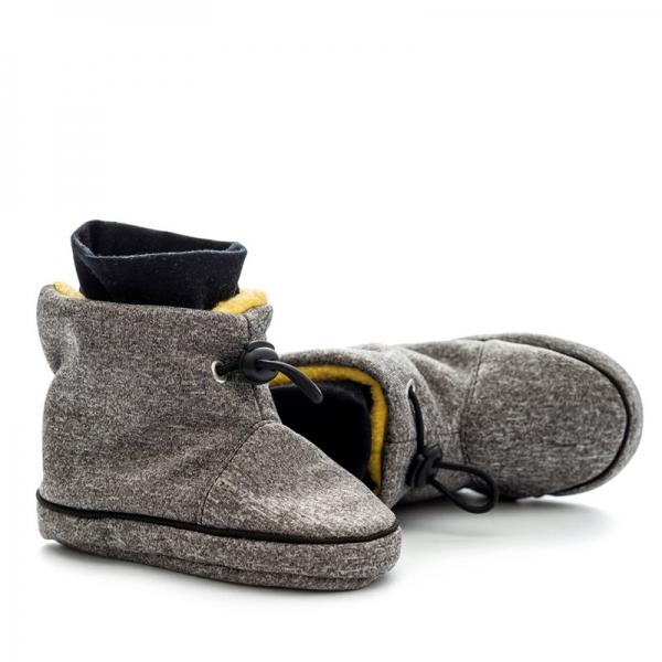 Cizme la purtat Liliputi® - Grey-Yellow