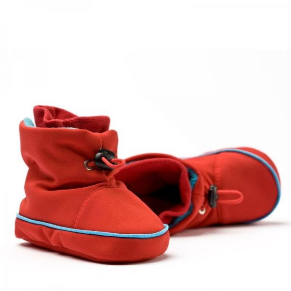 Cizme la purtat Liliputi® - Red-turquoise
