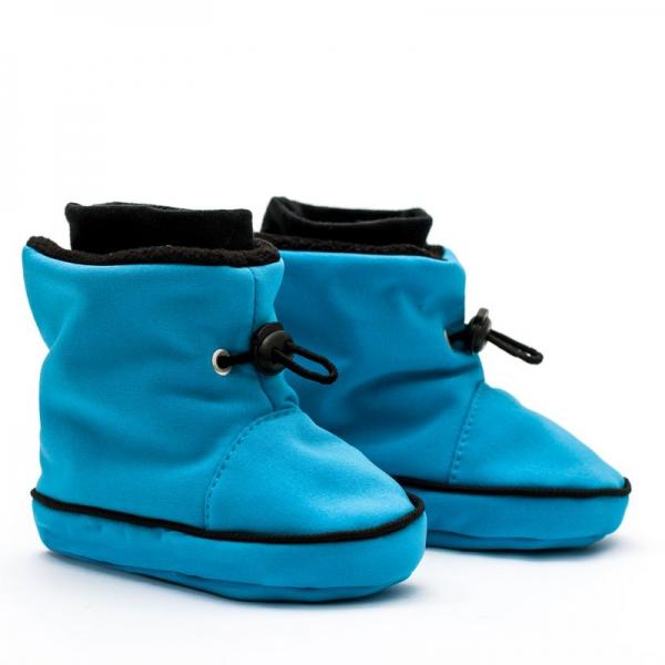 Cizme la purtat Liliputi® - Turquoise-black